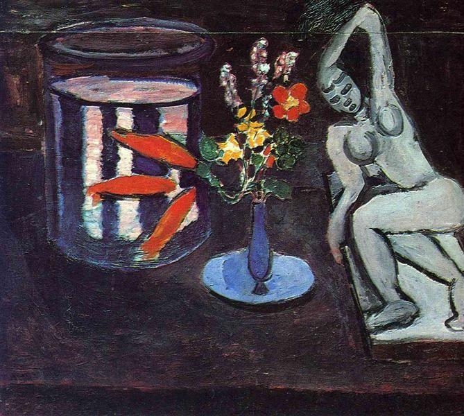 "Henri Matisse ""Still Life"" (1912) oil on canvas."