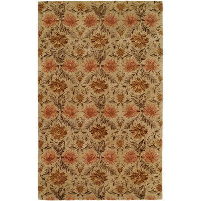 The Conestoga Trading Co. Hand-Tufted Sand Area Rug Rug Size: