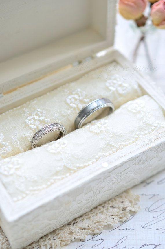 Elegant Ring Bearer Box with Pillow Insert Proposal Ring ...