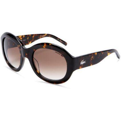 15d6a9d69240 Lacoste Women`s LA 12666 Acetate Sunglasses