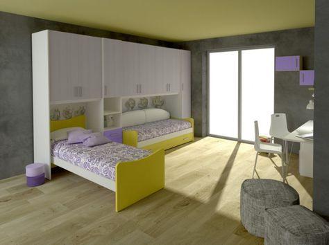 Cameretta Gemelli ~ Risultati immagini per camerette con letti gemelli kids bedroom