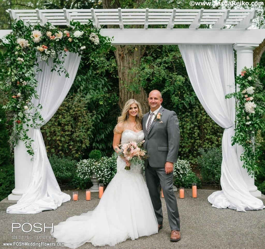 Jenn and Damon at Laurel Creek Manor – Seattle Wedding Flowers by ...