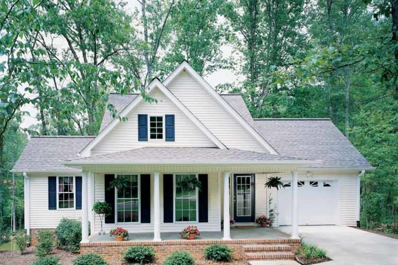 Country Style House Plan 3 Beds 2 5 Baths 1558 Sq Ft Plan 929 254 Country Style House Plans Cottage House Plans Cottage Plan