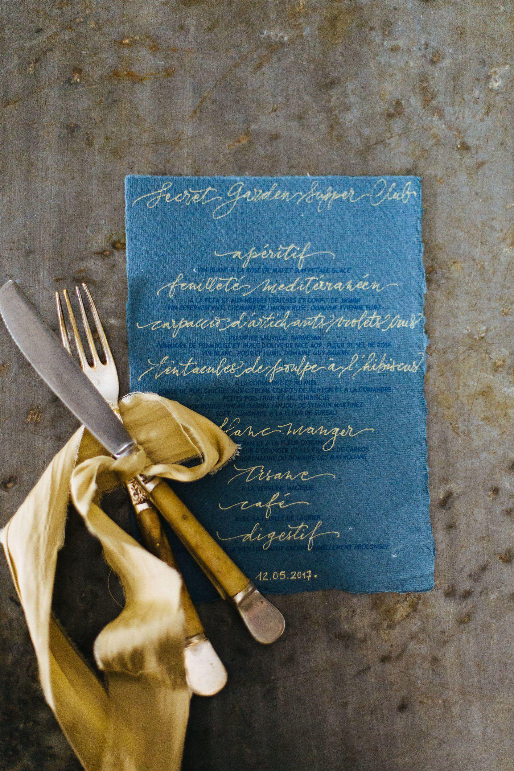 Secret Garden Provence Dinner Party Dinner party