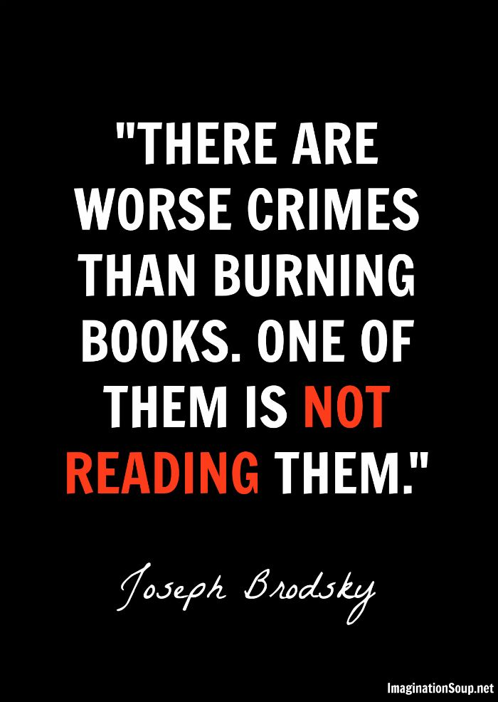 There Are Worse Crimes Than Burning Books Quote F451 Is One