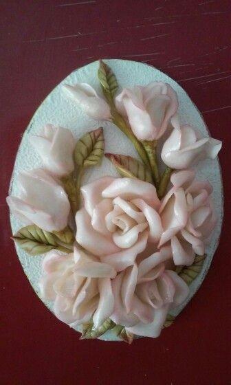 art by nilgün -cold porcelain           MAGNET