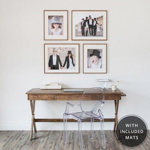 Bella Gold textured frames • (2) 20x24 frames with 16x20 mat ...