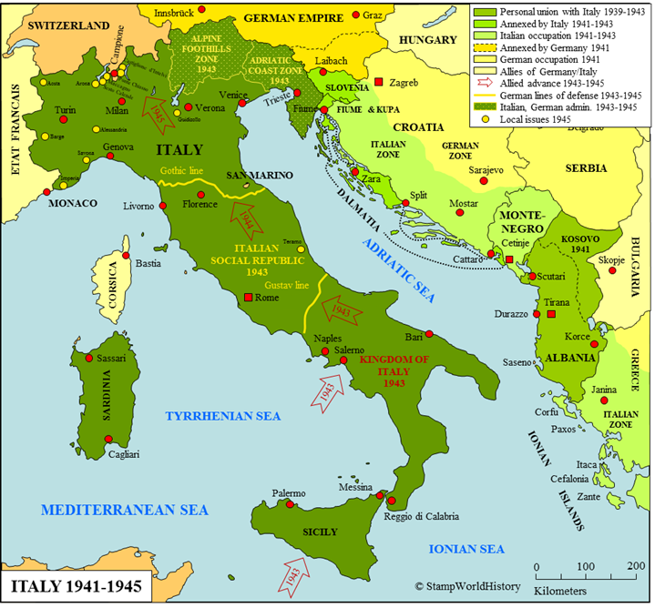 Italy 1941 1945 minturno italy pinterest italy italy 1941 1945 gumiabroncs Choice Image