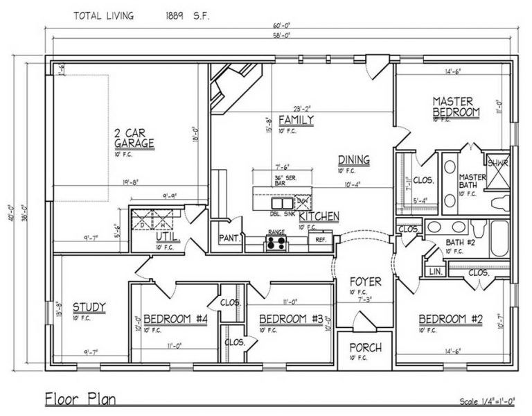 10 Amazing Barndominium Floor Plans For Your Best Home Archlux Net Metal Building House Plans Metal House Plans Shop House Plans