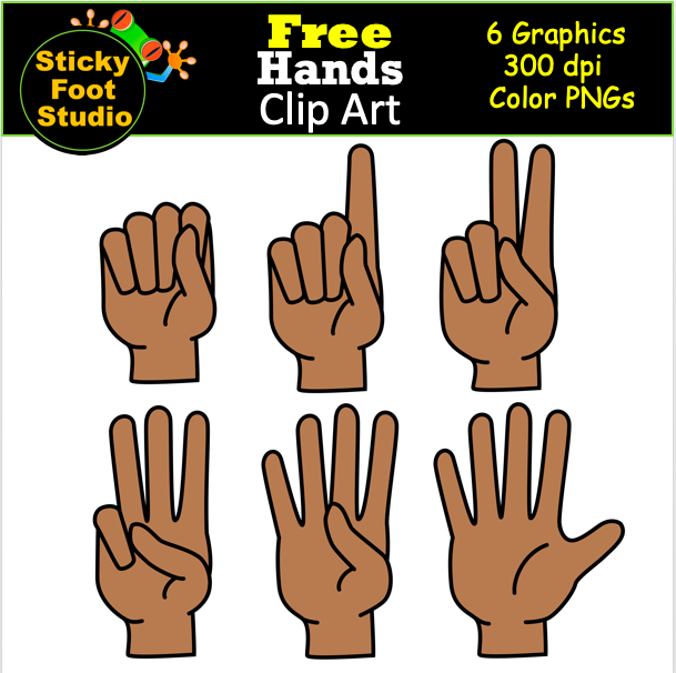 free counting fingers hand clip art madebyteachers clip art clip art freebies free clip art free counting fingers hand clip art