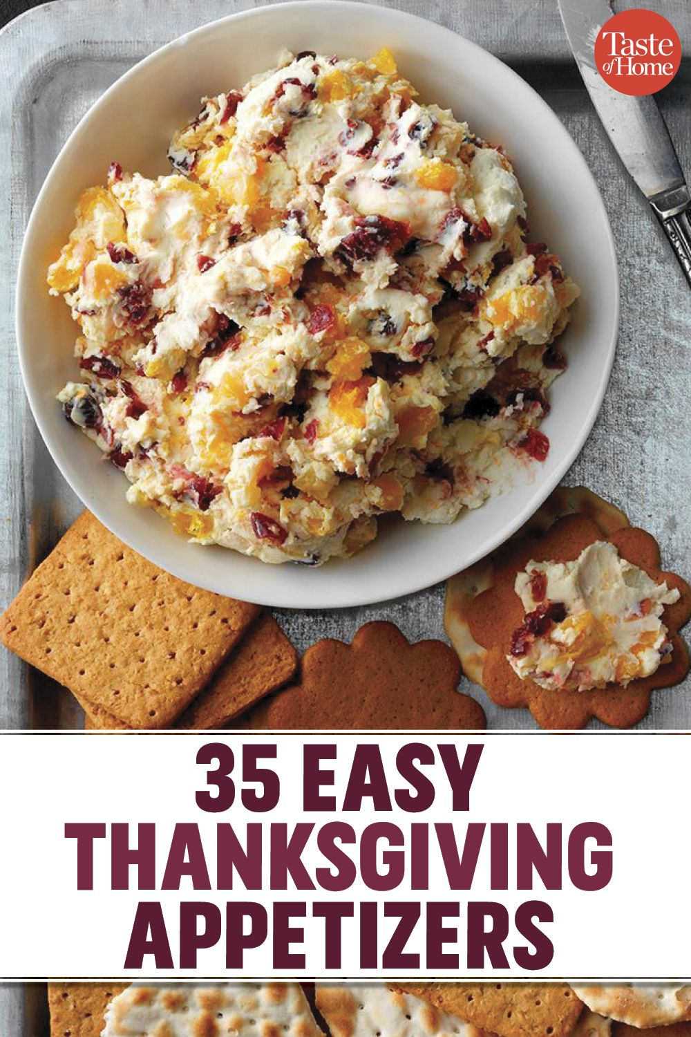 35 Easy Thanksgiving Appetizers