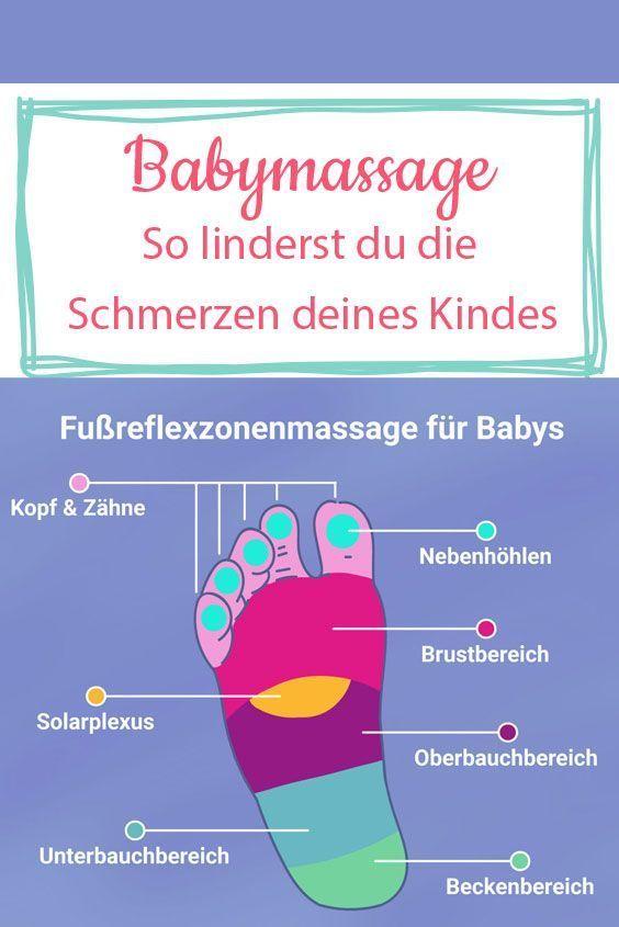 Fußreflexzonenmassage für Babys: So linderst du die Schmerzen deines Kindes | Wunderweib