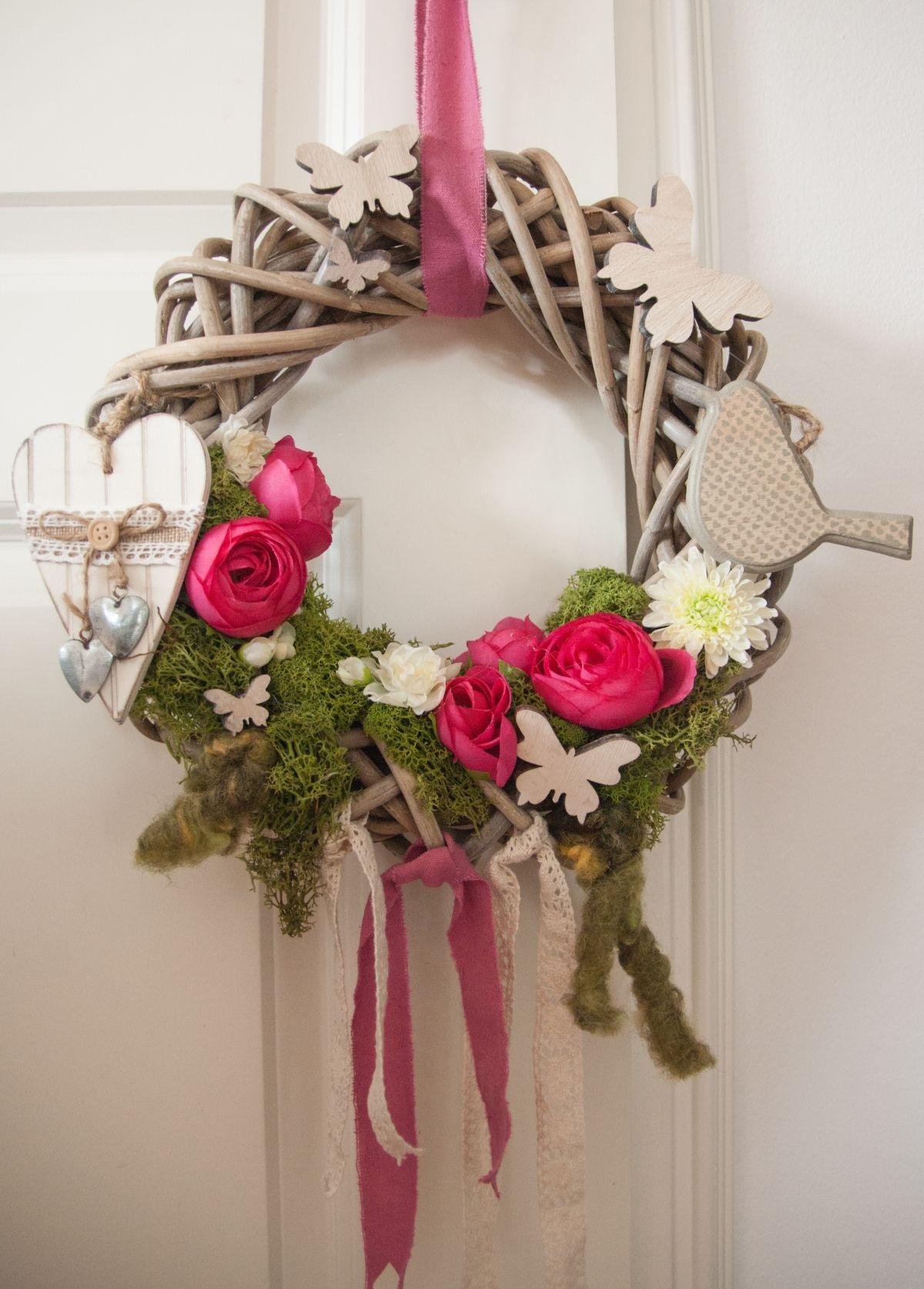T 252 Rkranz F 252 R Den Fr 252 Hling Door Wreath Quot Spring Edition