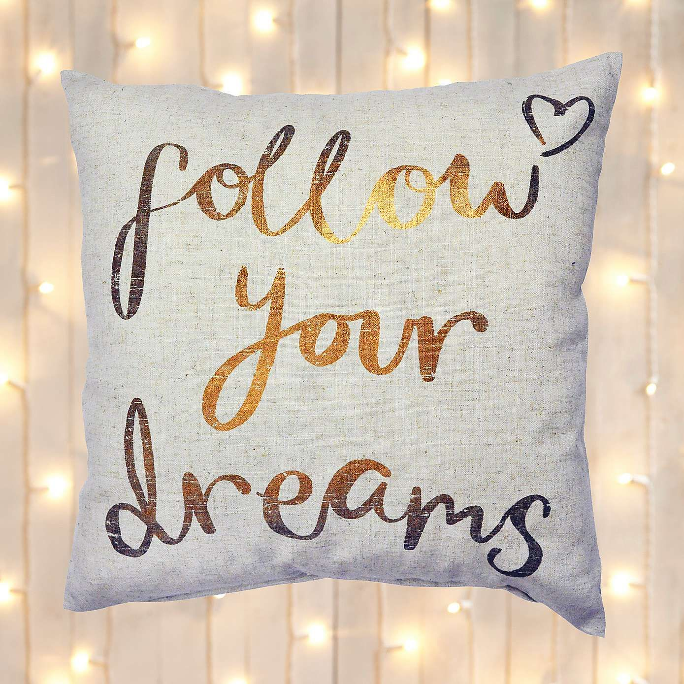 Follow Your Dreams Cushion Dunelm House Buys