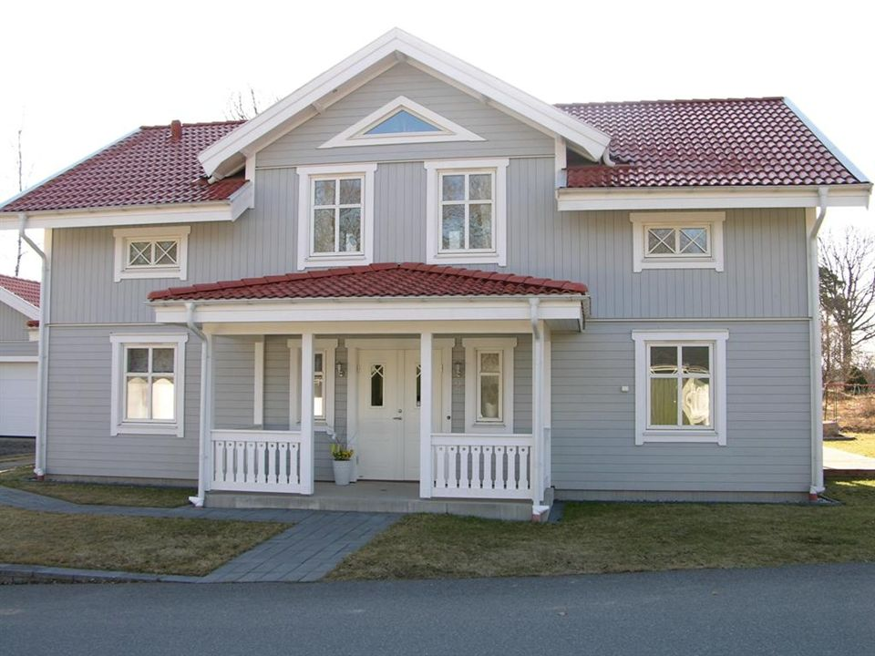 schwedenhaus aussenaufnahmen das original our house is a very very fine house with two cats. Black Bedroom Furniture Sets. Home Design Ideas