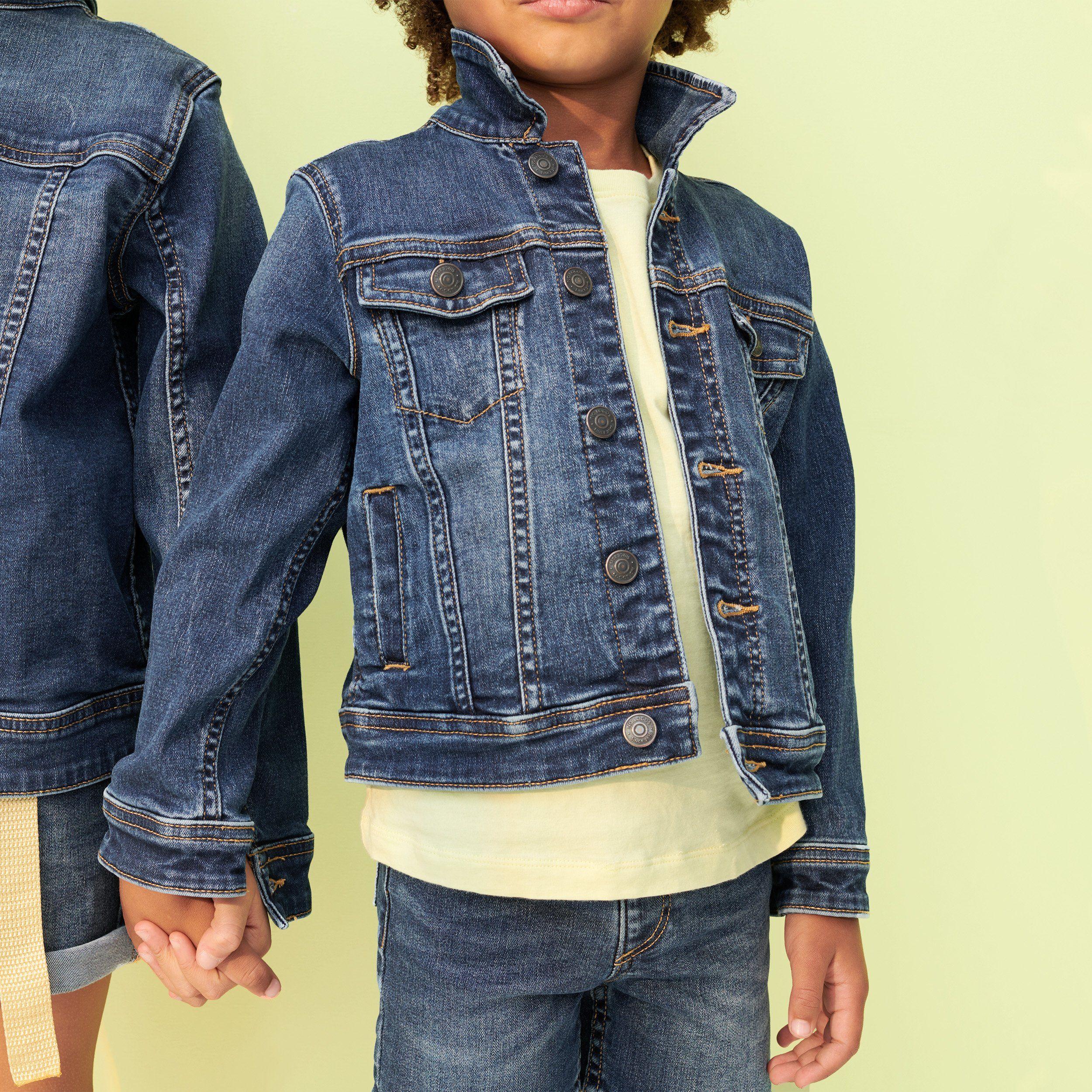 Denim Jacket Denim Jacket Lightweight Denim Jacket Boys Jean Jacket [ 2500 x 2500 Pixel ]