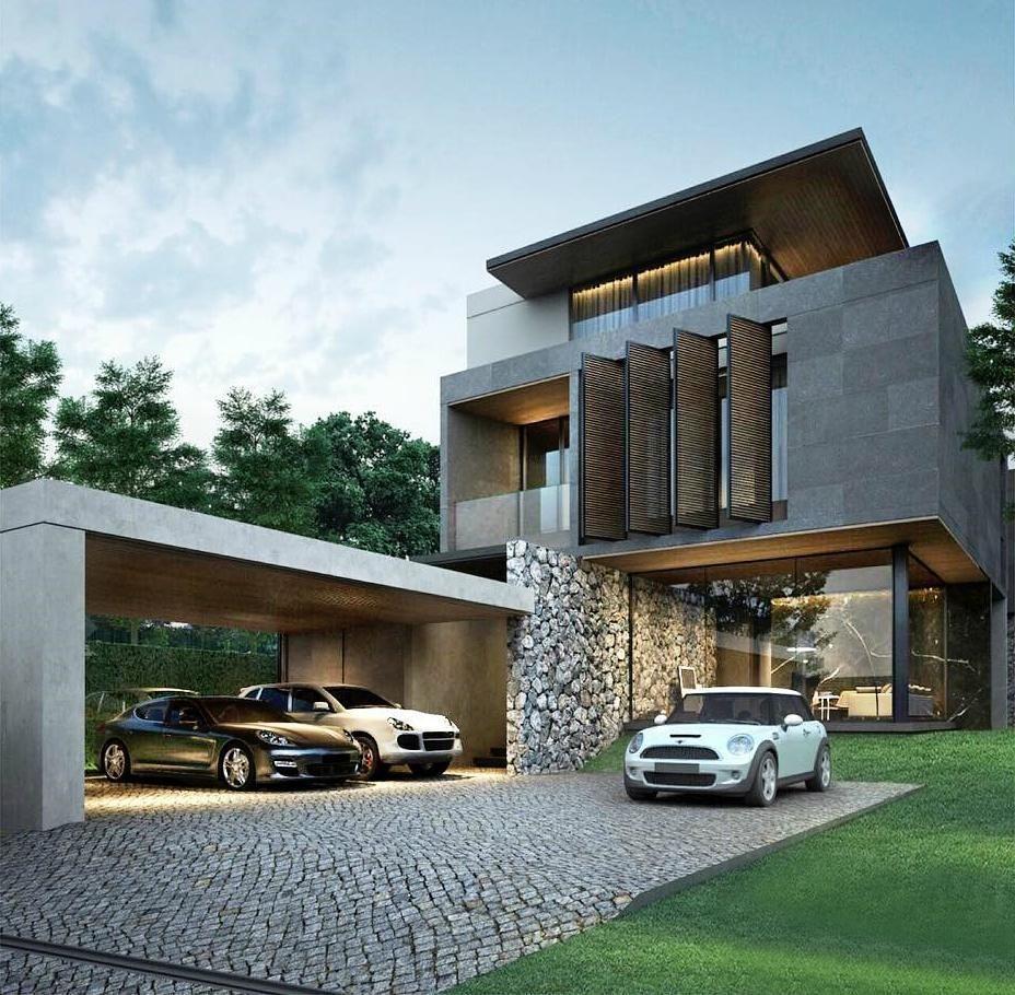 Pin Mohamed Modern Villas Small House Design