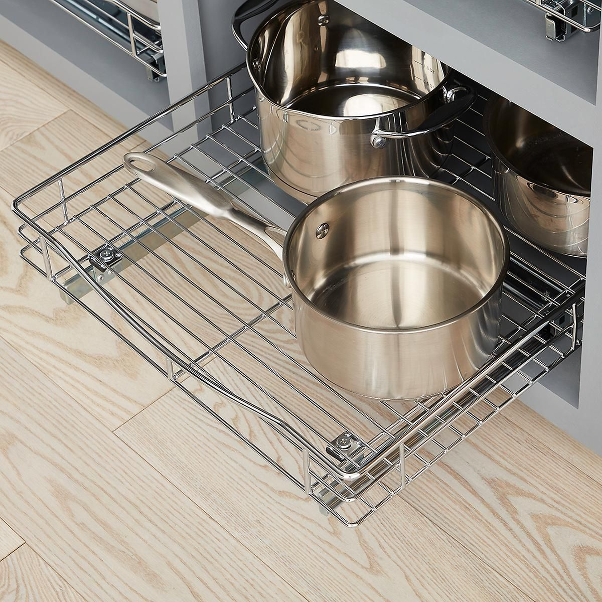 Lynk Chrome Pull Out Cabinet Drawers Pull Out Cabinet Drawers Kitchen Cabinet Storage Cabinet Drawers
