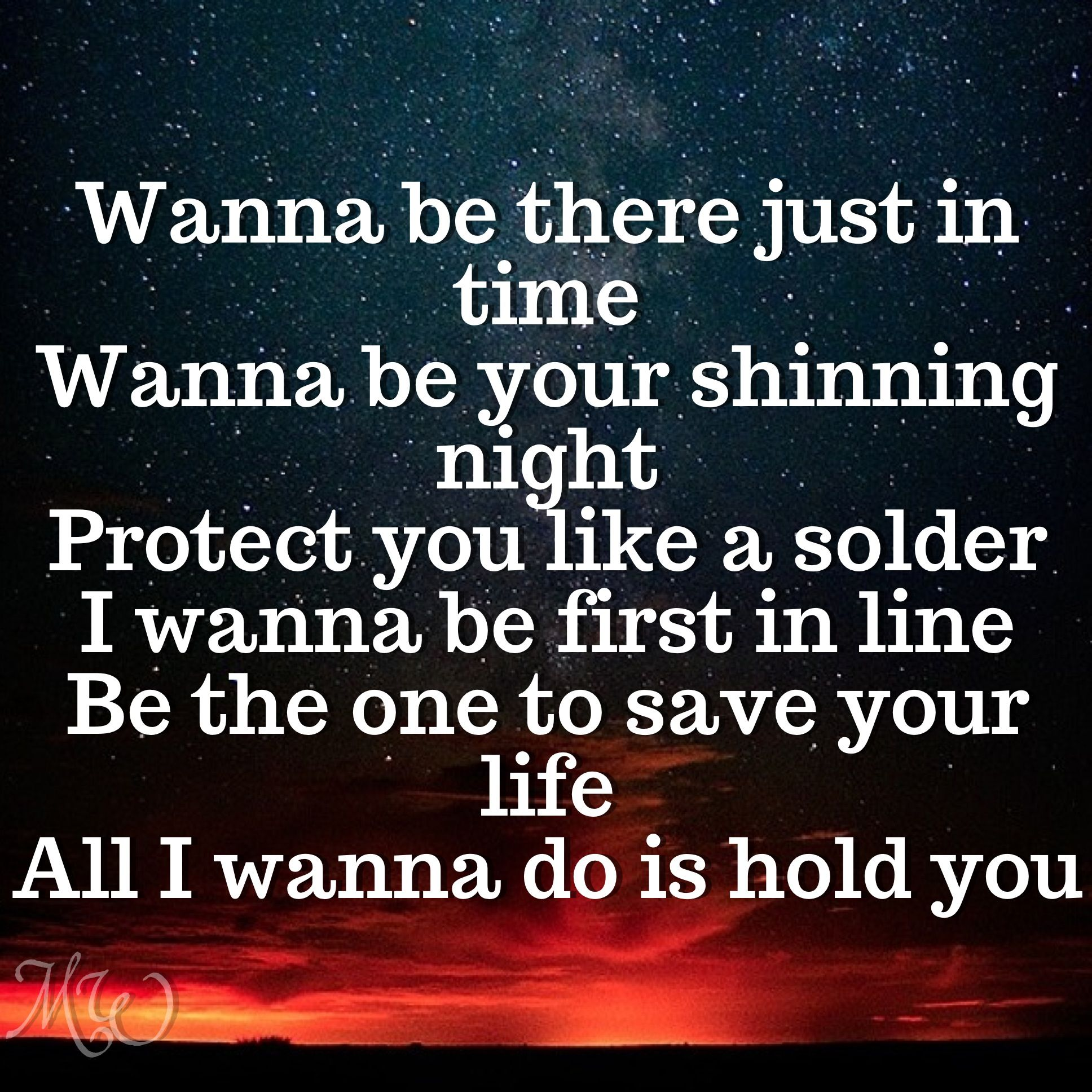 Solder lyrics Backstreet Boys In A World Like This 2013 ...Quotes From Song Lyrics 2013