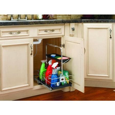 Rev-A-Shelf 544-10C-1 Utility Cads 544 Base Cabinet Organizers ... on lowes kitchen wood cabinets, lowes kitchen wall cabinets, lowes kitchen counter tile, lowes cheap kitchen cabinets, lowes white kitchen cabinets, lowes medicine cabinets with mirrors, lowes kitchen tile backsplash, lowes kitchen closet organizer,