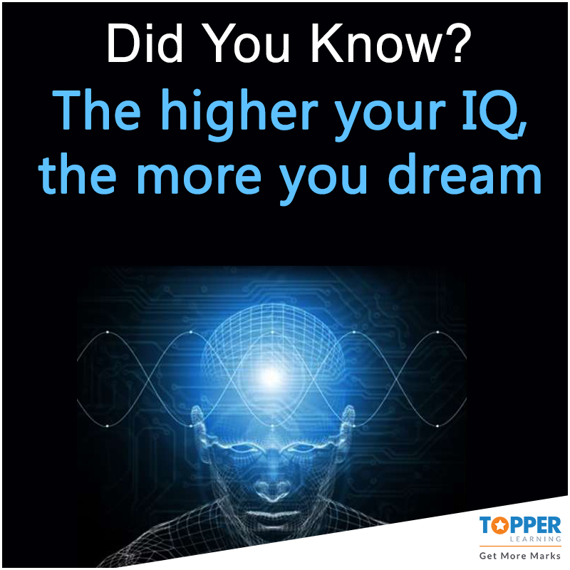 Didyouknow The Higher Your Iq The More You Dream Kids Education Facts Fun Facts Facts Did You Know