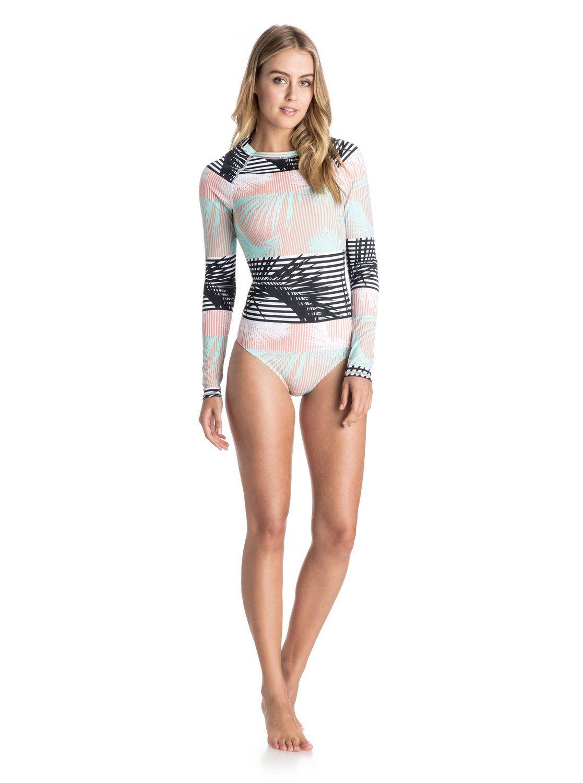 1faa4ce6a3 Pop Surf Long Sleeve One Piece Swimsuit in 2019 | Fiji | Swimsuits ...
