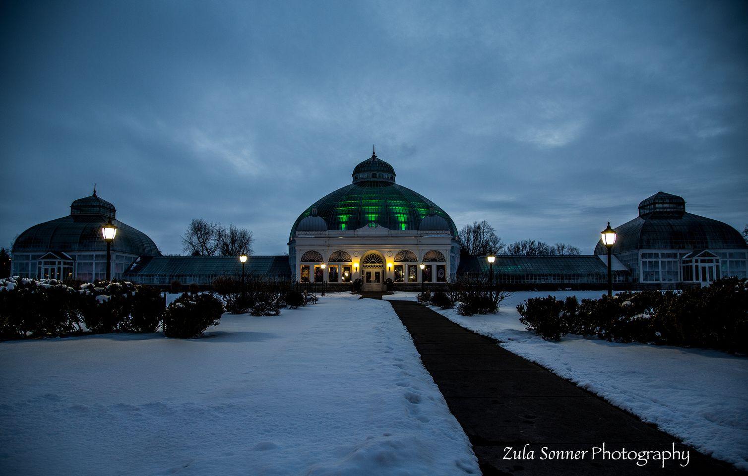 Botanical Garden Buffalo,NY Winter wedding venues