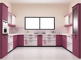 Pakistani Kitchen Design With Small Island And Red Cabinet Paint Beautiful Decorating Ideas Good Simple Kitchen Design Kitchen Modular Kitchen Furniture Design