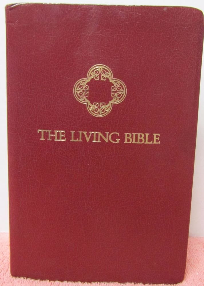The Living Bible Paraphrased Tyndale Red Letter Concordance 2361 9 Audio