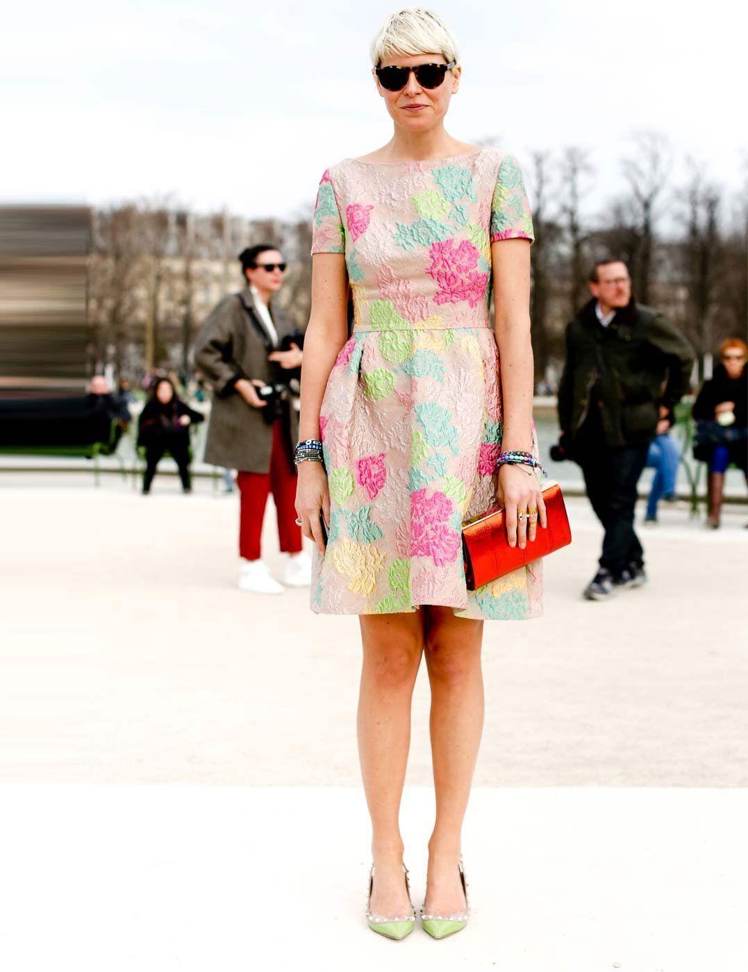 Wedding attendee dresses  Paris Fashion Week  Wedding Guest Fashion  Pinterest  Elisa nalin