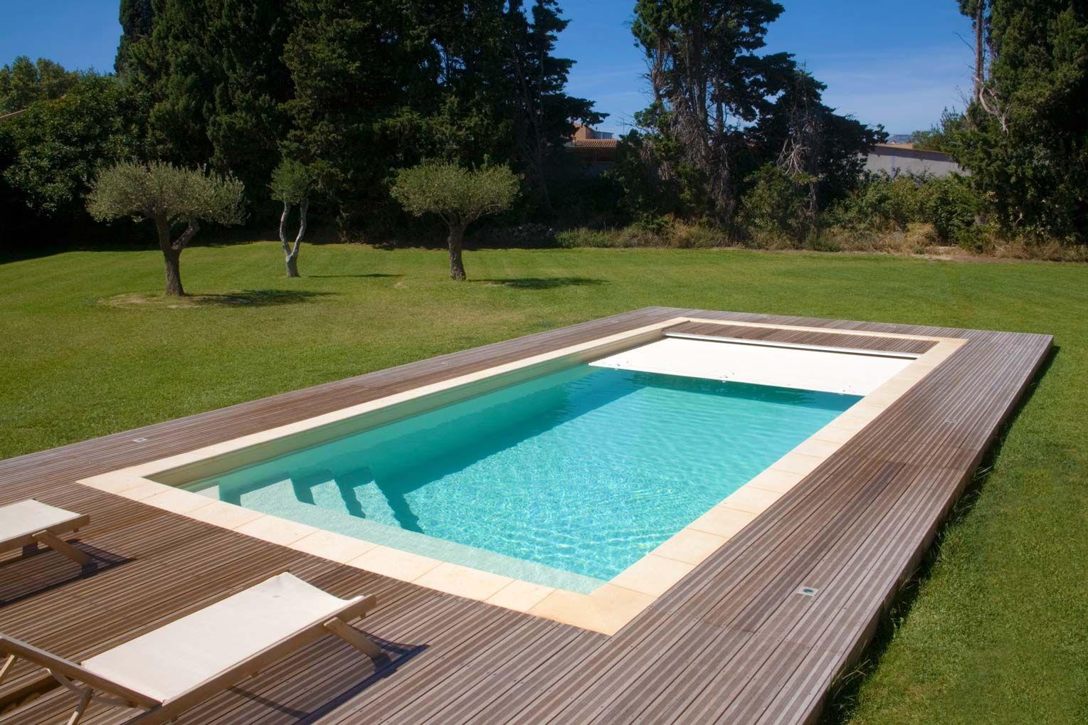 comores piscine couverture immerg e fond plat zwembad pinterest peque as piscinas. Black Bedroom Furniture Sets. Home Design Ideas
