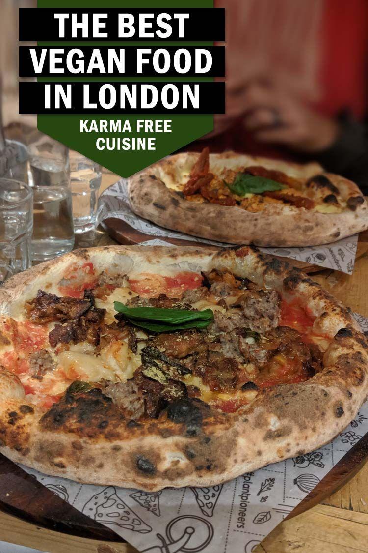 Best Vegan Food In London Di Hickman Vegan Travel Vlog Vegan Recipes Food Vegan Junk Food