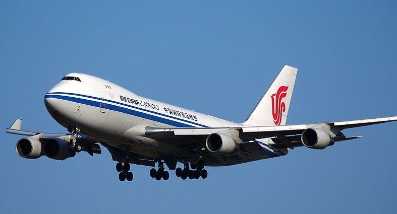 Air China Cargo B747F freighter