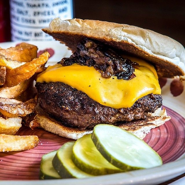 Check Out Brindle Room Brindle Room New York Ny As Seen On Diners Drive Ins And Dives And Featured On Tvfoodmaps Good Burger Best Burger In America Food
