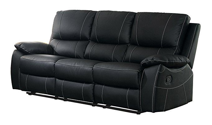Leather Reclining Chair And Ottoman Quality Furniture S Cool Recliner Chairs Black Small Swiv Pinteres