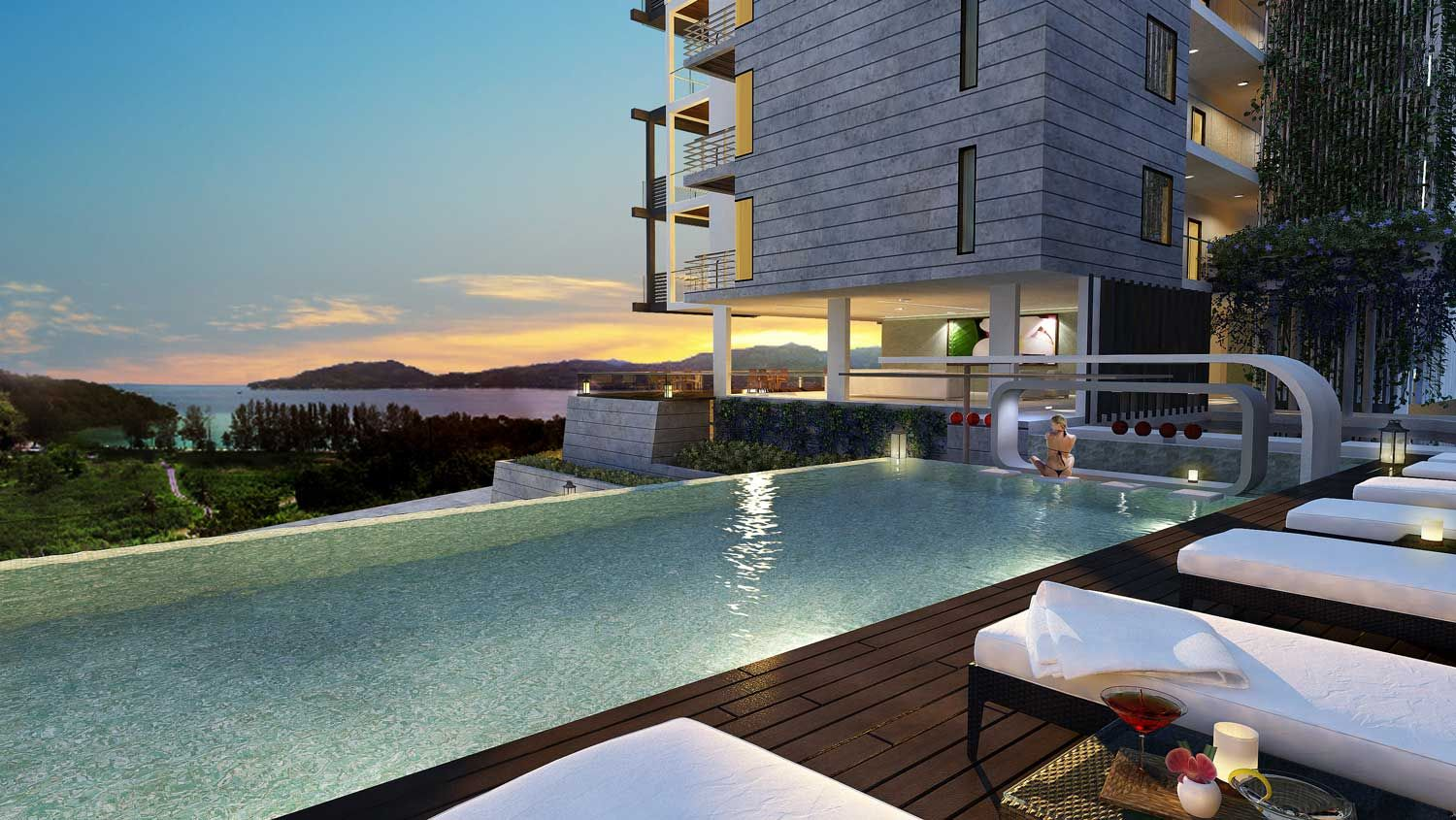 Thailand Penthouse With A Sweeping Infinity Pool A