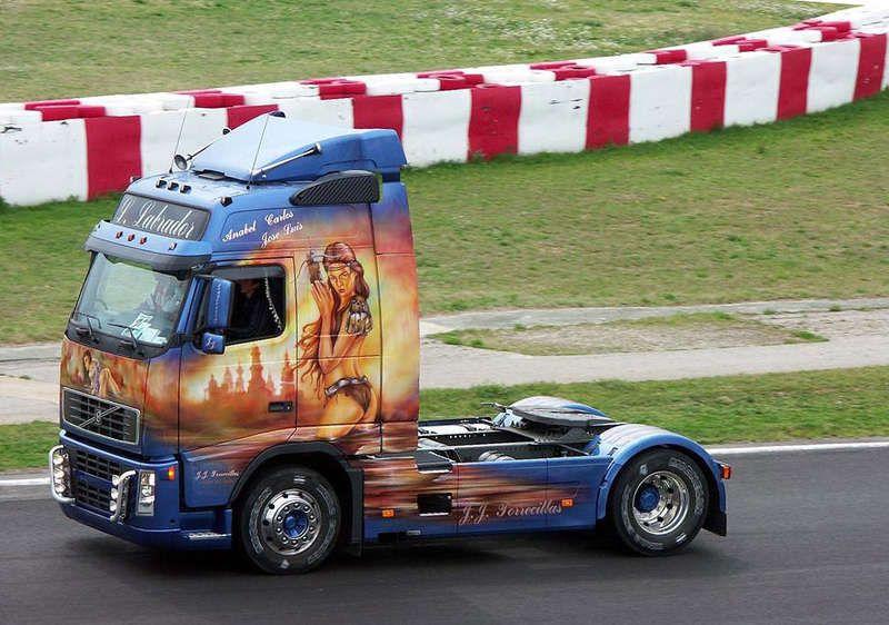 Аэрография на грузовиках » Аэрография » АВТО фото - тюнинг ...