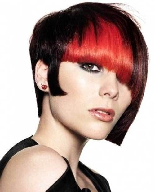 15 Two Tone Hair Color Ideas For Short Hair 9 Edgy Cut With Two
