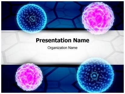 Leukemia Powerpoint Template For Powerpoint Presentation This
