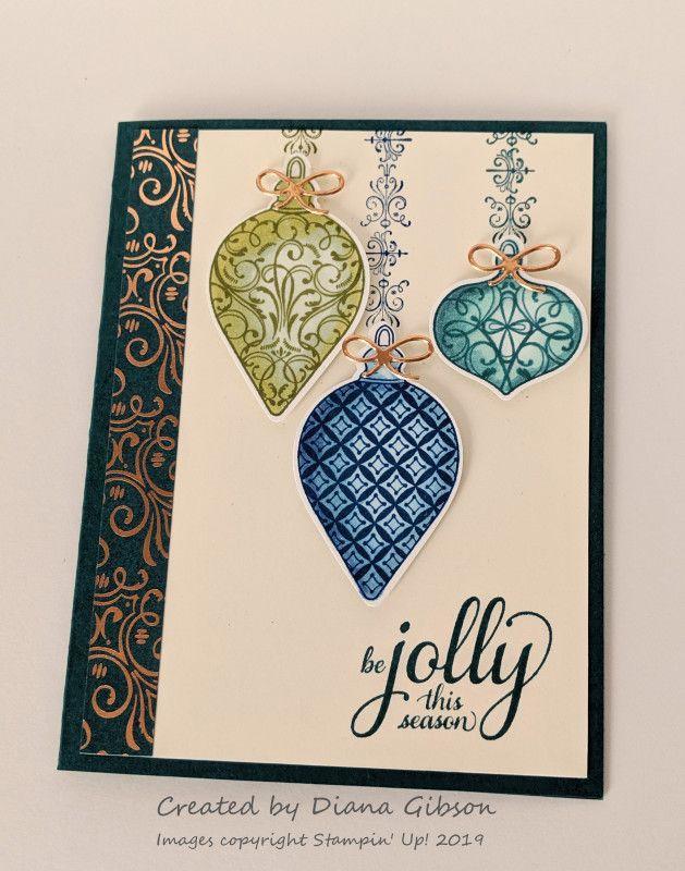 Stampin Up Christmas Gleaming   - B Karte Weihnachten -   #Christmas #Gleaming #Karte #Stampin #Weihnachten #stampmaking