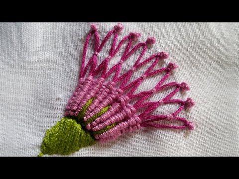 Embroidery Patterns Spider Hand Stitch Basic Tutorial Handiworks