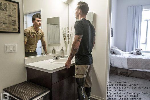 Veterans Express Their True Selves Beyond The Uniform In Stunning Photo Series