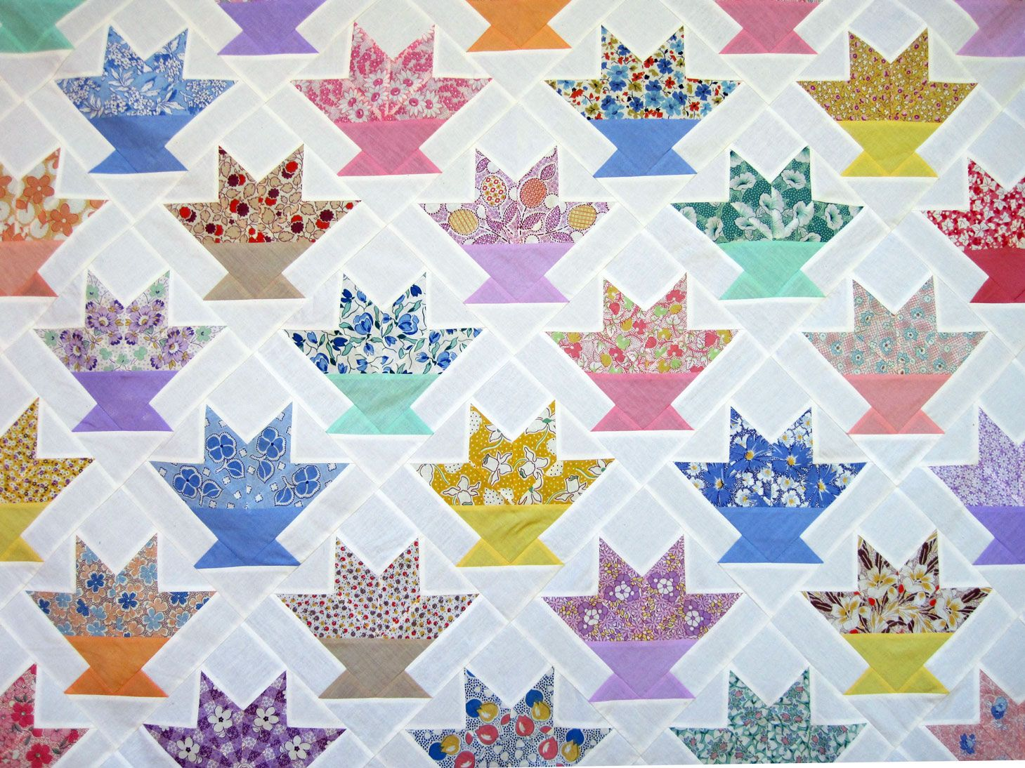 flower basket quilt pattern | is for Quilter » Blog Archive ... : basket quilts - Adamdwight.com