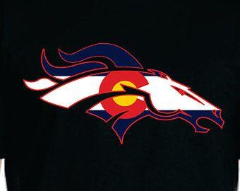 debfedf2 Denver Broncos Colorado Flag Shirt   Denver Broncos with colorado ...