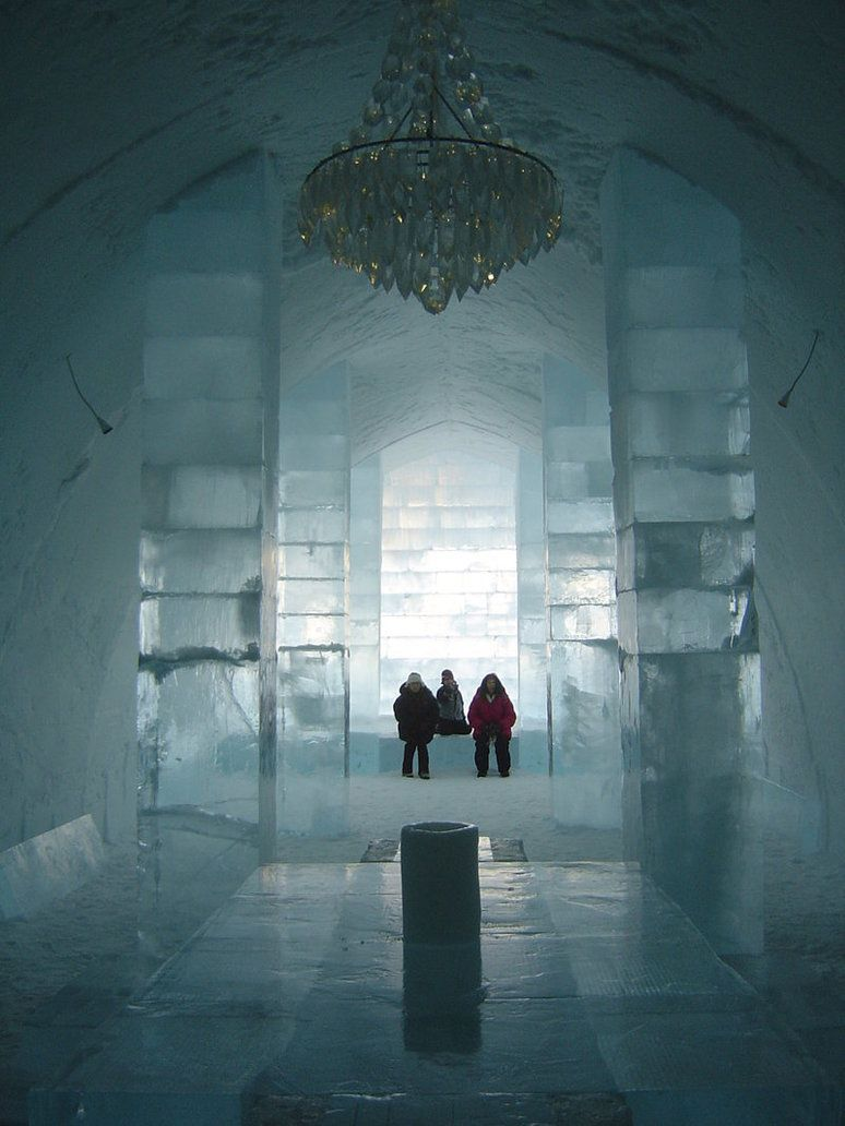 Ice Hotel, Sweden (I so badly want to go here)
