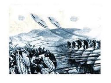 alexander the great 329 bc flying shields UFO ile ilgili görsel sonucu