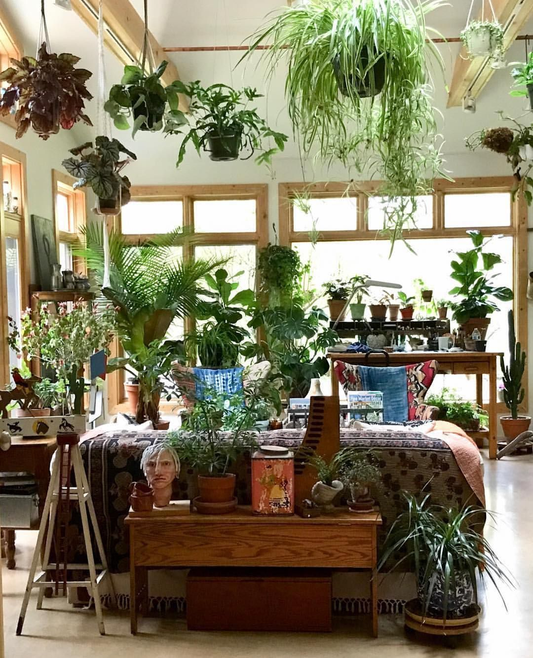 Home Decor Plants Bohemian Life Boho Home Design 43 Decor