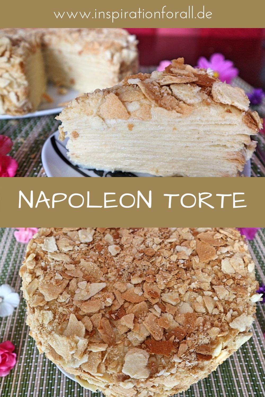 Napoleon Torte Rezept Fur Leckere Russische Schichttorte Leckere