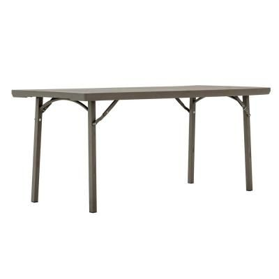 Cosco 72 In Brown Plastic Folding Banquet Table 60426prm1e The Home Depot 2021 Lightweight