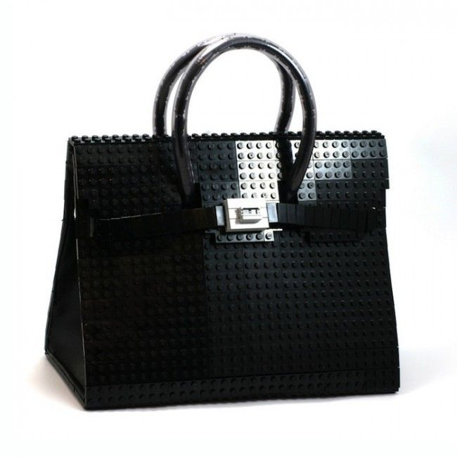 e52ab5a4b567 I wonder if this Lego Birkin bag costs as much as the real thing!   )